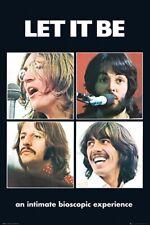 Beatles - Laisser C' Être Affiche 24x36 - Musique 34384