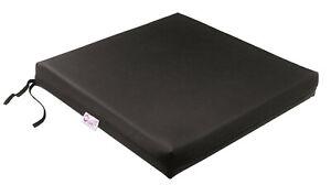 Care Direct Memory Foam Leatherette Wheelchair Cushion
