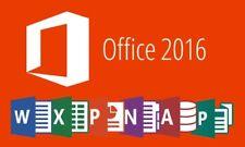 MS Office 2016 Professional Plus 32/64 lifetime key + download link Windows&MAC