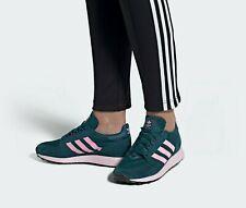 Women's Adidas Originals Forest Grove Running Shoes EE5876 Tech Mineral / PINK