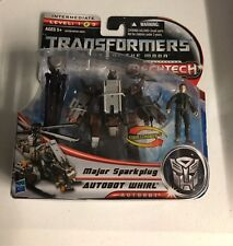 Transformers Dark of the Moon Human Alliance Major Sparkplug Autobot Whirl Dotm