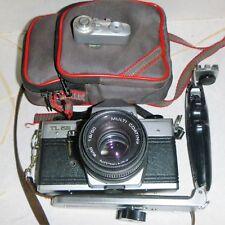 Cámara SLR Praktica MTL 5B 35 mm de cine con lentes adicionales & Kit De Flash