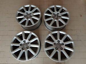 4 cerchi originali Audi da 16 pollici per A4 Avant + 4 borchie coprimozzo