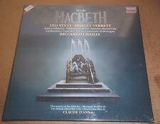 Chailly/Nucci/Verrett/Ramey VERDI Macbeth - London 417 525-1 SEALED