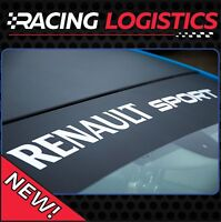 Windshield Sunstrip Renault Sport RS Decals Stickers universal size TOP QUALITY!