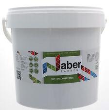 (6,50 €/L) 10 Liter - Wetterschutzfarbe - RAL 6005 - MOOSGRÜN-