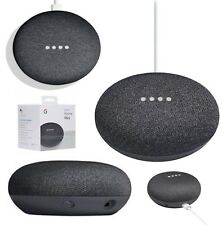 Google Home Mini Activated Wireles Bluetooth Speaker + Google Assistant Charcoal