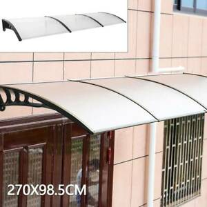 Door/Canopy Awning Shelter Front Back Outdoor Porch Patio Window Roof Rain Cover