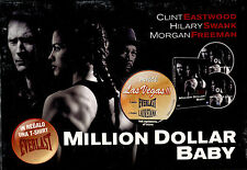 MILLION DOLLAR BABY - DVD + T-SHIRT, NUOVO E SIGILLATO, PRIMA STAMPA ITALIANA