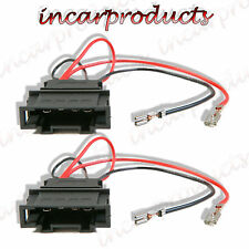 Volkswagen VW Passat Speaker Adaptor Plug Leads Cable Connectors