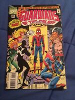 GUARDIANS OF THE GALAXY#54 Marvel 3000 Spider Man Low Print Run [Marvel, 1994]