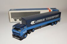 ± LION CAR DAF 2800 TRUCK WITH TRAILER MEEUS TRANSPORT NEAR MINT BOXED