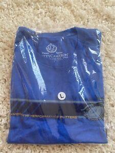 Scotty Cameron Mo Par Stripe T-shirt Size XL Color Royal Blue