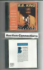 B.B. KING - Live at the Regal & Classics HITS - 2 CD LOT Set Best of Concert BB