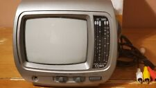 "Coby CX-TV6 5"" Portable Black & White TV Television AM/FM Radio, Car TV  Boat TV"
