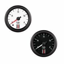 Stack Professional Fuel Level Stepper Motor Gauge - Black Dial Face