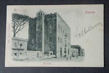 CARTOLINA PALERMO LA ZISA VIAGGIATA DEL 1900 SUBALPINA AAA