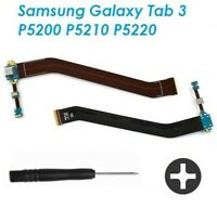 Nappe Flex Charge Port Pour Samsung Galaxy Tab 3 P5200 P5210 USB  + Tournevis