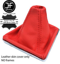 RED TOP GRAIN REAL LEATHER GEAR GAITER FOR VAUXHALL OPEL ASTRA MK5 H 2004-09