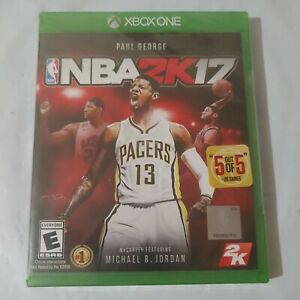 🏀 NBA 2K17 for Microsoft Xbox One XB1 X1 *BRAND NEW AND SEALED* 🚚💨