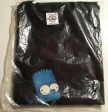 The Simpsons Bart Simpson Blue Mens T-Shirt Color & Dark Sealed New XL A AA Doh