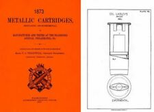 Metallic Cartridges- Frankford Arsenal 1873