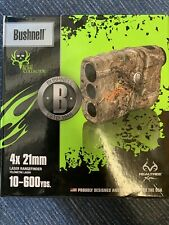 ● Bushnell 4x20 202208 Laser Rangefinder ● Bone Collector LRF RealTree Xtra Camo