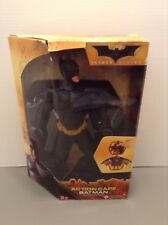 "Batman Begins Movie Batman 12"" Figure W/ Action Cape Still Sealed Mattel 2006"