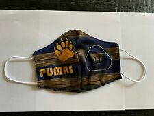 pumas unam  mask  handmade washable reusable mouth and nose cover