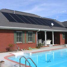 28'x20'Swimming Pool Solar Panel Heater w Connector AboveGround Divert Valve Kit