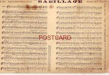 """""""BABILLAGE"""" music Paroles d'ANTONIN LOUIS, Musique de E. GILLET"""