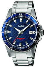 Reloj Analogico CASIO MTP-1290D-2A - Correa De Acero - Dia Del Mes - 50 BAR