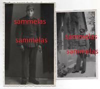 2 x WK2 Foto Soldat 90. leichte Afrika-Division 90.Pz..Gren.Div. Sardinien 1318