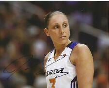 DIANA TAURASI Signed 8 x 10 Photo WNBA Basketball Phoenix MERCURY Free Shipping