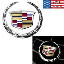 Cadillac Front Grille 6 In Emblem Hood Badge 3D Logo Chrome Symbol New Ornament