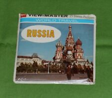 vintage RUSSIA VIEW-MASTER REELS new/sealed