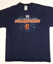 Detroit Tigers Mens 2006 American League Champions Shirt Size Large