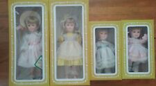 Effanbee Group of 4 Dolls - 2 Day by Day & 2 Four Seasons