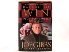 LIKE NEW! Racing to Win : Establish Your Game Plan for Success by Joe Gibbs