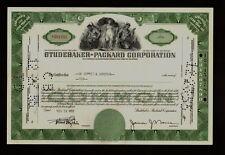 STUDEBAKER-PACKARD CORPORATION dd 1950s