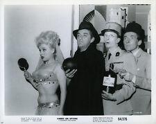 Carry on Spying original cast photo Barbara Windsor Kenneth Williams C.Hawtrey