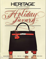 Heritage Auction Luxury Handbag Catalog #5151 Dec. 2013 Hermes, Chanel, Prada, B