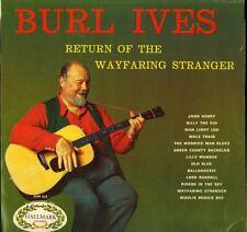 BURL IVES return of the wayfaring stranger HM 514 uk hallmark LP PS EX/EX