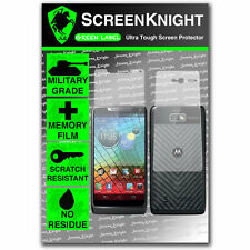 ScreenKnight Motorola Droid Razr i FULL BODY SCREEN PROTECTOR invisible shield