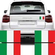 4x Italy Flag Car Van Stickers -Bandiera d'Italia il Tricolo Bike Decal Graphics