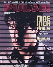 Nine Inch Nails Nin 1999 Pulse Magazine Cover Original Poster