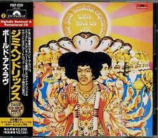 JIMI HENDRIX Axis Bold As Love JAPAN Early CD W/Obi RARE 1991