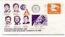 1978 SPACELAB 1 Mission Payload Specialists Marshall Space Flight Center NASA US