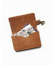 Free People Women's Nomad Mini Wallet Brown Leather