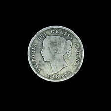 1894 Canada 5 Cents silver coin